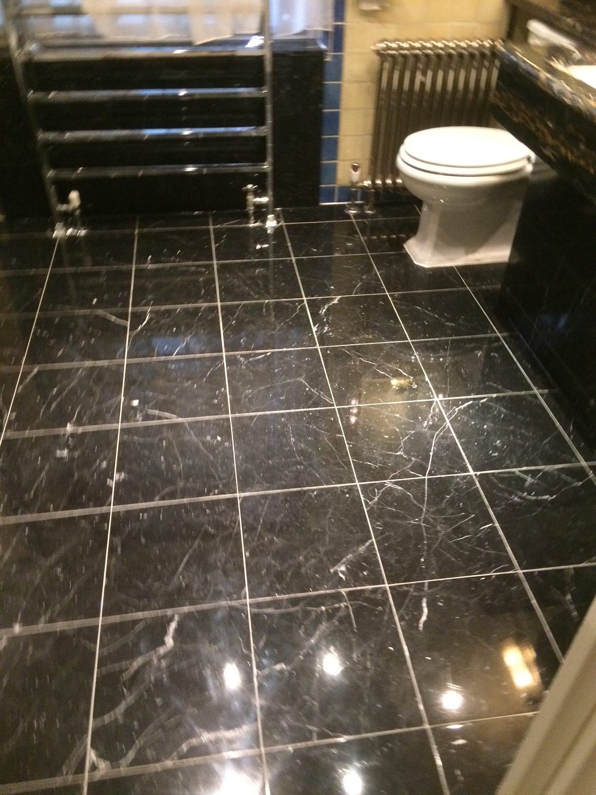 Granite Bathroom Floor renovation