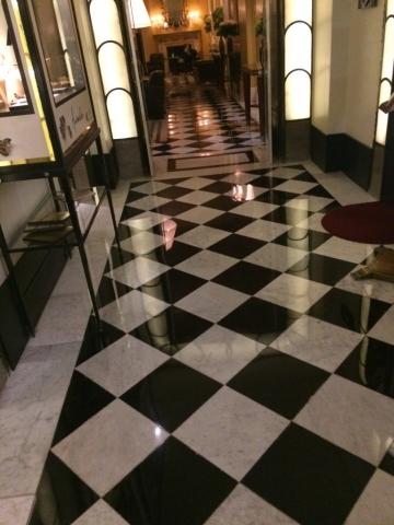 Marble Hallway