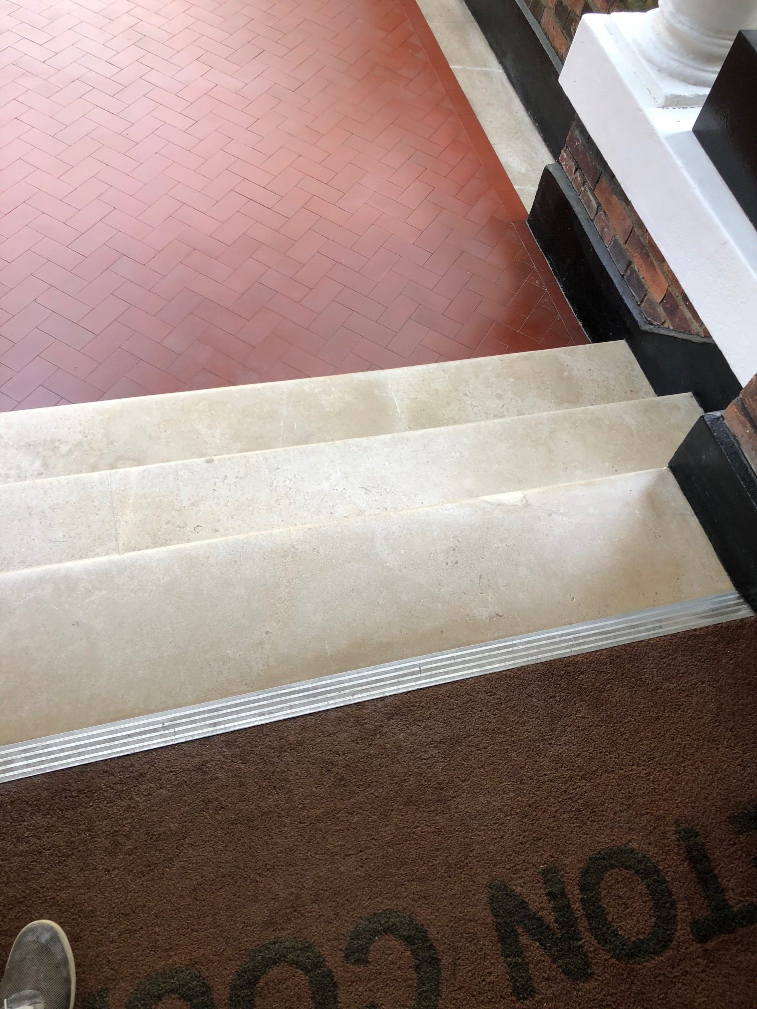 Marble steps repair and renovation
